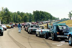 Car show takes to the track for a few laps