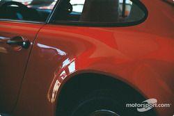 The winning Brumos Porsche