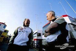 David Richards y Geoff Willis