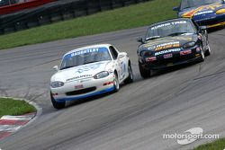 David Daughtery passes David Roush for the lead
