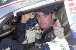 Jimmie Johnson drives into Victory Lane