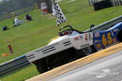 Race winner Richard Spicer