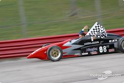 Race winner Justin Pritchard