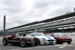 Three Maseratis, Indy: 8CTF, Trofeo ve Spyder