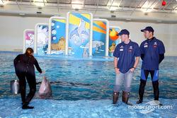 Visit, Indianapolis Zoo: Nick Heidfeld ve Heinz-Harald Frentzen