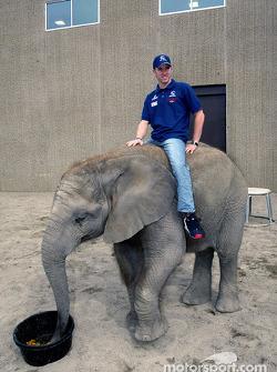 Visit, Indianapolis Zoo: Nick Heidfeld