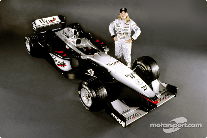 American female racing driver Sarah Fisher will do a demonstration run in the McLaren Mercedes Formu