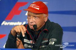 FIA Thursday press conference: Niki Lauda