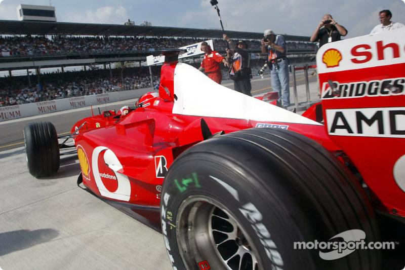 #49 GP des États-Unis 2002 (Ferrari F2002)