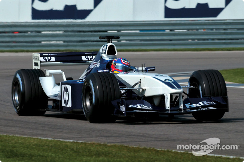 Juan Pablo Montoya, Williams-BMW FW24, 2002