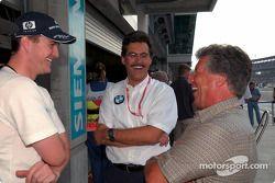 Ralf Schumacher, Mario Theissen ve Mario Andretti