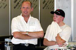 Ron Dennis ve Kimi Raikkonen