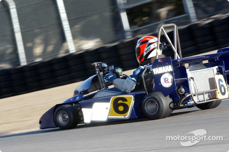 Wayne Rainey dispute la World Super Karts