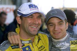 Michael Bartels y Timo Scheider