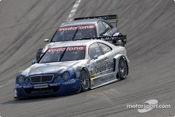 Thomas Jäger, Persson Motorsport, AMG-Mercedes CLK-DTM 2001; Jean Alesi, Team HWA, AMG-Mercedes CLK-DTM 2002