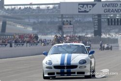 Михаэль Шумахер на Maserati Trofeo