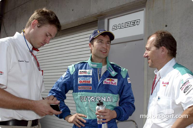 2002: Хайнц-Харальд Френтцен вместо Фелипе Массы (Sauber, Гран При США)
