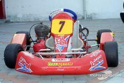 The Birel Motorsport 100cc kart