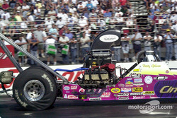 Billy Gibson, of southern Maryland in Top Alcohol Dragster