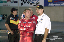 George Bryce and Shawn Gann discuss track conditions