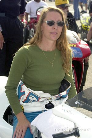 Karen Stoffer came from Nevada to try for this race