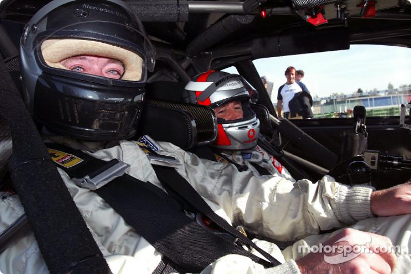 Día de prensa de DTM: Bernd Schneider