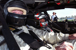 DTM-Medientag: Bernd Schneider, Team HWA, AMG-Mercedes CLK-DTM 2002