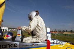 DTM media day: German F3 driver Frank Diefenbacher