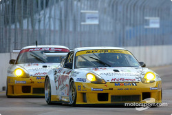 Les deux Racing Porsche 911 GT3-RS d'Alex Job