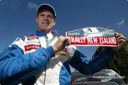 El ganador del rally y campeón 2002 del WRC, Marcus Gronholm