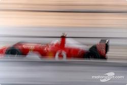 Rubens Barrichello - calentamiento rápido