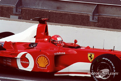 Michael Schumacher - calentamiento dominical