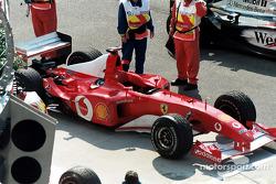 El Ferrari de Michael Schumacher