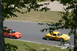 SpeedSource Porsche Boxster and Team Lexus Lexus IS300