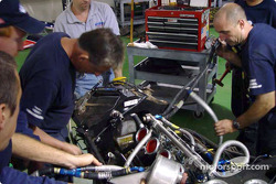 Preparation at Team Panoz Motor Sports