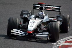 David Coulthard, McLaren MP4-17