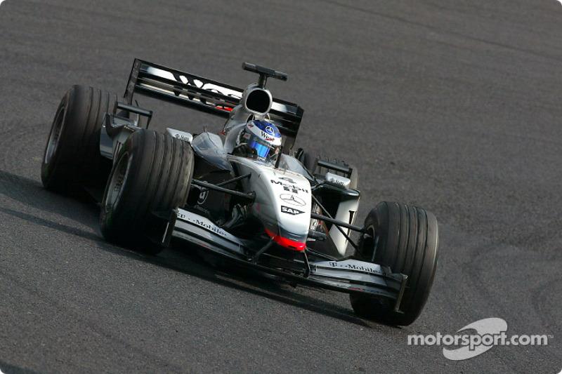 2002-2003: McLaren-Mercedes MP4-17