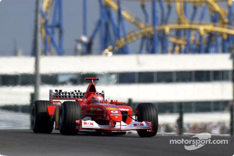 50. Japón 2002, Ferrari F2002