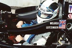James Weaver buckles in