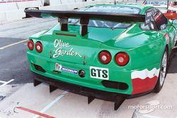 Olive Garden Ferrari rear end