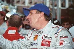 Frank Biela in the winning car