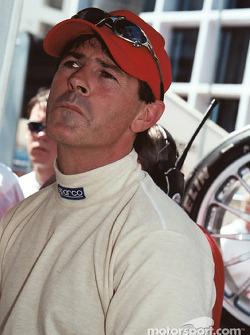 Rinaldo Capello looks a little concerned
