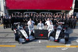 Retrato familiar para el Equipo McLaren
