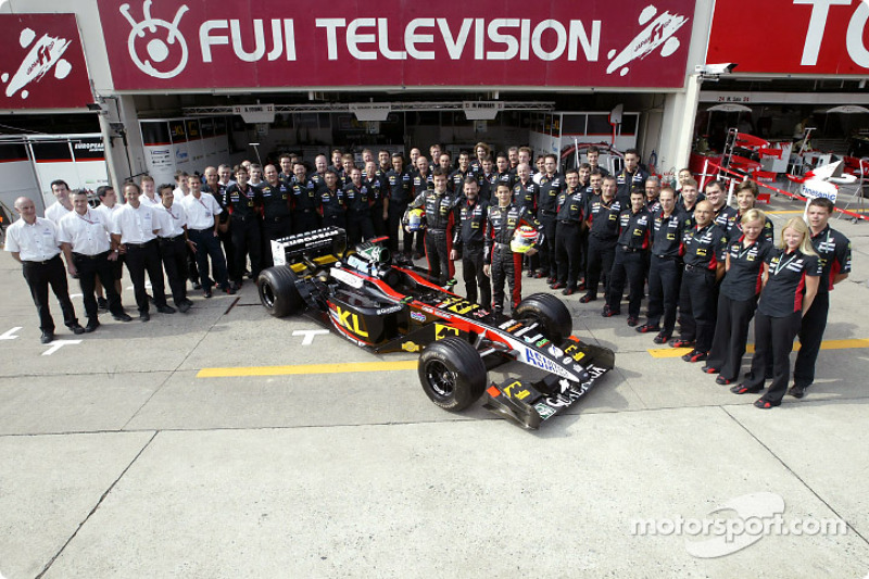 Family picture for Team Minardi