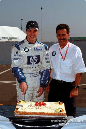 Ralf Schumacher celebra su Gran Premio 100