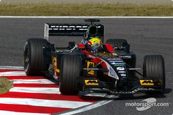 Mark Webber, Minardi PS02