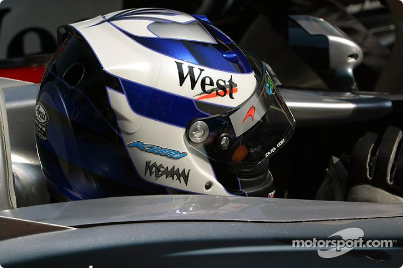 Kimi Raikkonen rumbo a la parrilla de salida