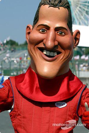 Michael Schumacher incógnito