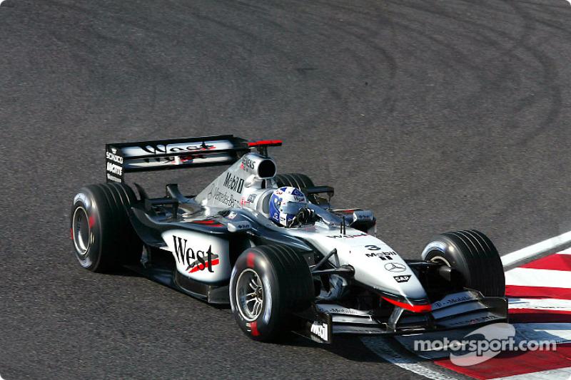 2002 -McLaren MP4-17 Mercedes