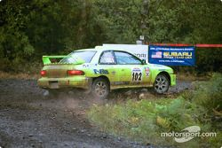 #102 Scott Trinder, Paul Westwick, Vancouver BC, '00Subaru 2.5 RS turbo